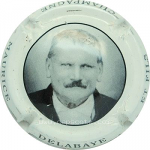 capsule champagne Delabaye Maurice  Série 1 Portrait