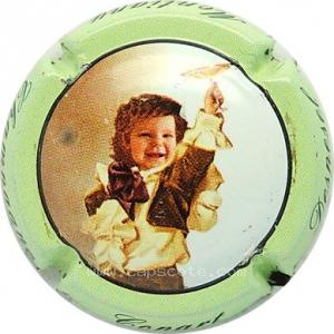 6. contour vert pâle Capsule de champagne CONART DESPESEL