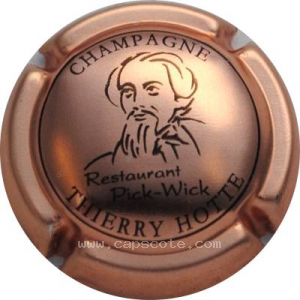 capsule champagne Hotte Thierry Restaurant Pick Wick