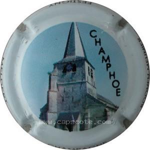 Capsule de champagne BOONEN-MEUNIER cuvée champhoe 5a. contour blanc
